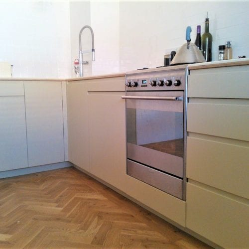 Kitchen cupboards and drawers